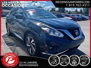 Used 2016 Nissan Murano Platine for sale in Rouyn-Noranda, QC