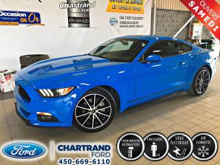 Used 2017 Ford Mustang EcoBoost modèle à toit fuyant 2 portes for sale in Laval, QC