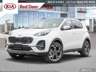 New 2020 Kia Sportage SX TURBO for sale in Red Deer, AB