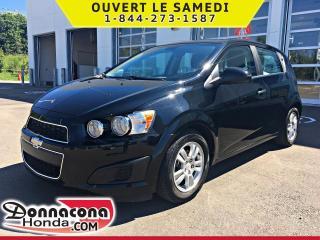 Used 2012 Chevrolet Sonic LT *JAMAIS ACCIDENTE* for sale in Donnacona, QC