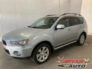 Used 2012 Mitsubishi Outlander XLS V6 AWD Cuir Toit Ouvrant 7 Passagers MAGS for sale in Trois-Rivières, QC
