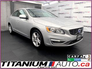 Used 2015 Volvo S60 Premier+AWD+Camera+Blind Spot+Park Sensors Front & for sale in London, ON