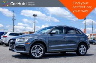 Used 2016 Audi Q3 Technik Quattro Navi Sunroof Bluetooth Backup Camera Heat Front Seats 18