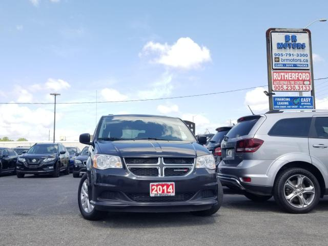 2014 Dodge Grand Caravan SXT DUAL AIR CONDITION STOW & GO SEATING