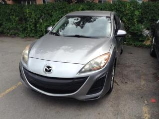 Used 2010 Mazda MAZDA3 Berline 4 portes, GX for sale in Montréal, QC
