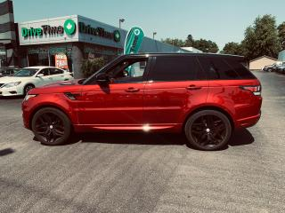 Used 2014 Land Rover Range Rover Sport V8 SC Autobiography Dynamic for sale in London, ON