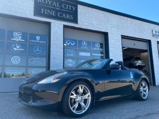 Used 2010 Nissan 370Z Touring Sport Roadster Loaded RAYS Wheels Navi for sale in Guelph, ON