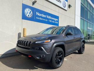 Used 2018 Jeep Cherokee TRAILHAWK LEATHER PLUS - EVERY OPTION / LOADED for sale in Edmonton, AB