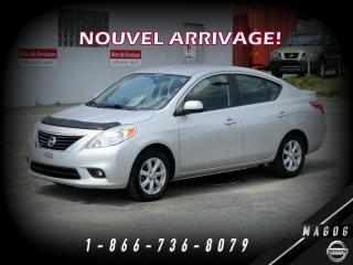 Used 2013 Nissan Versa SL + MAGS + BAS KILO + BLUETOOTH + A/C! for sale in Magog, QC