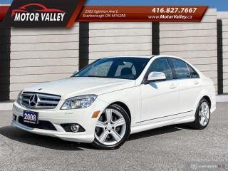 Used 2008 Mercedes-Benz C-Class C300 4MATIC NO ACCIDENT MINT! for sale in Scarborough, ON