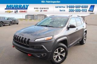 Used 2014 Jeep Cherokee Trailhawk for sale in Moose Jaw, SK