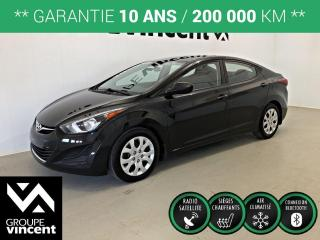 Used 2016 Hyundai Elantra GL ** GARANTIE 10 ANS ** Fiable et économique! for sale in Shawinigan, QC