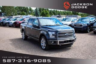Used 2016 Ford F-150 Limited - NAV, Remote Start, 360 Camera for sale in Medicine Hat, AB