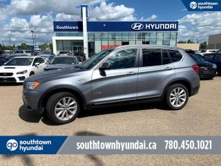 Used 2013 BMW X3 35i/AWD/LEATHER/SUNROOF/BACKUP CAM for sale in Edmonton, AB