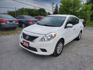 Used 2014 Nissan Versa S 1 OWNER CERTIFIED for sale in Stouffville, ON