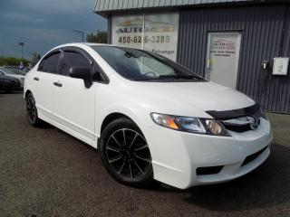 Used 2010 Honda Civic ***DX,AUTOMATIQUE,MAGS,A/C*** for sale in Longueuil, QC