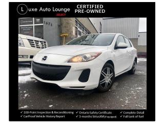 Used 2013 Mazda MAZDA3 SUPER CLEAN, SPORTY HATCH, A/C, CRUISE!! for sale in Orleans, ON