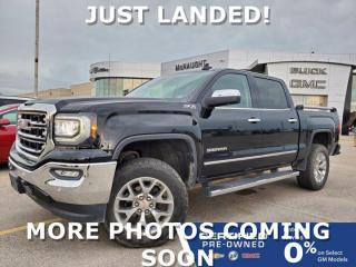 Used 2018 GMC Sierra 1500 SLT 6.2L 4x4 Crew Cab | Leveling Kit | K02 Tires for sale in Winnipeg, MB