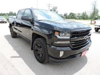 Used 2017 Chevrolet Silverado 1500 LTZ Only 38000km  Loaded  Don't pay for 3 months for sale in Gorrie, ON