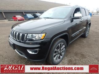 Used 2018 Jeep Grand Cherokee Limited 4D Utility 4WD 3.6L for sale in Calgary, AB