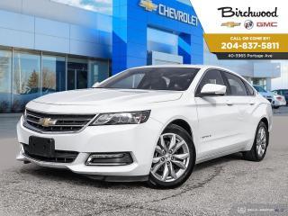 Used 2018 Chevrolet Impala LT V6 | Bluetooth | Heated Seats | Sunroof for sale in Winnipeg, MB