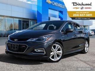 Used 2017 Chevrolet Cruze Premier Sunroof | Navigation | Bluetooth | for sale in Winnipeg, MB