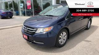 Used 2015 Honda Odyssey EX-L w/Navi EX-l W/ NAVIGATION for sale in Winnipeg, MB