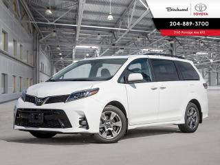 New 2020 Toyota Sienna SE TECHNOLOGY PKG for sale in Winnipeg, MB