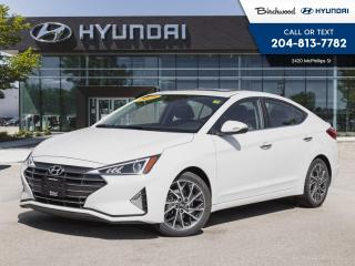Used 2019 Hyundai Elantra Luxury *Leather Sunroof Rear Camera for sale in Winnipeg, MB