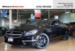 Used 2014 Mercedes-Benz CLS-Class CLS63 AMG 4MATIC - DISTRONIC PLUS|MASSAGE SEATS for sale in North York, ON