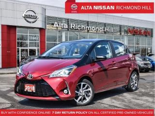 Used 2018 Toyota Yaris SE   Leds   LDW   Back- UP CAM   Keyless Entry for sale in Richmond Hill, ON