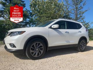 Used 2016 Nissan Rogue AWD SL *NAVIGATION - PANORAMIC - 360 CAMERA* for sale in Winnipeg, MB