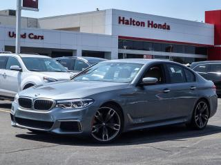 Used 2018 BMW 550i M for sale in Burlington, ON