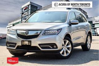 Used 2016 Acura MDX Elite No Accident| Remote Start| 360 Camera for sale in Thornhill, ON
