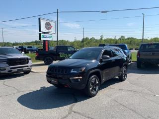 Used 2018 Jeep Compass 2.4L Trailhawk 4WD 1-Owner Trade-IN!! for sale in Sudbury, ON