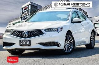 Used 2018 Acura TLX 3.5L SH-AWD w/Tech Pkg No Accident| Apple Carplay| for sale in Thornhill, ON