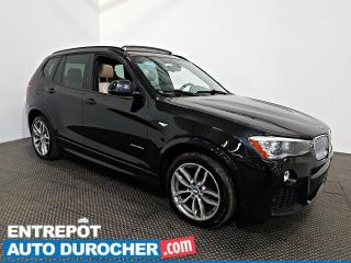 Used 2015 BMW X3 XDrive28d AWD Diesel NAV Toit Ouvrant - A/C - Cuir for sale in Laval, QC
