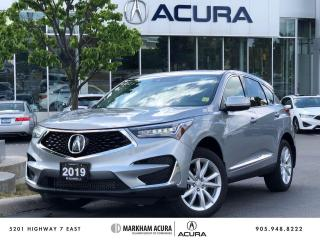 Used 2019 Acura RDX Tech at for sale in Markham, ON