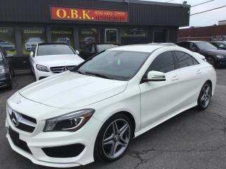Used 2016 Mercedes-Benz CLA-Class CLA 250-NAVIGATION-CAM DE RECUL-BLUETOOTH- for sale in Laval, QC
