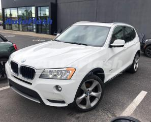 Used 2013 BMW X3 2.8i xDrive Premium *Park-Assist *Toit-Pano-Roof for sale in Saint-Hubert, QC