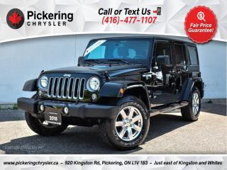 Used 2018 Jeep Wrangler JK Sahara - Chrome PKG/Heated Seats/NAV/Hard TOP for sale in Pickering, ON