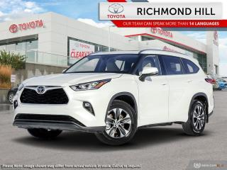 New 2020 Toyota Highlander XLE AWD for sale in Richmond Hill, ON