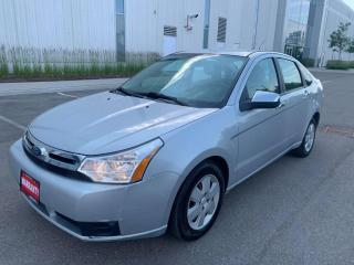 Used 2008 Ford Focus 4DR SDN for sale in Mississauga, ON