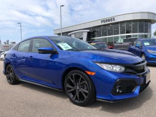 Used 2018 Honda Civic Hatchback Sport \ SUNROOF \ GREAT BUY \ AAA1 \ for sale in Waterloo, ON