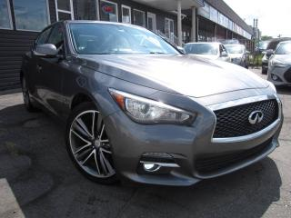 Used 2015 Infiniti Q50X AWD Limited, Navi, AWD, B-Cam, Loaded! for sale in Scarborough, ON