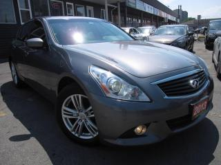 Used 2013 Infiniti G37 X AWD LEATHER, B-CAM, SUNROOF for sale in Scarborough, ON