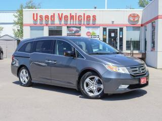 Used 2013 Honda Odyssey 4dr Wgn Touring w-RES & Navi for sale in North York, ON
