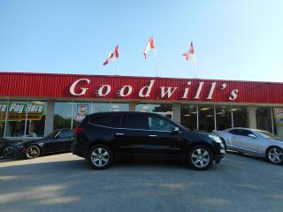 Used 2009 Chevrolet Traverse LTZ! HEATED LEATHER! DVD! NAV! REMOTE START! for sale in Aylmer, ON