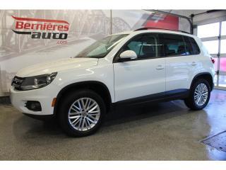 Used 2016 Volkswagen Tiguan COMFORTLINE + GPS 4MOTION for sale in Lévis, QC