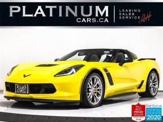 Used 2017 Chevrolet Corvette Z06 650HP, 1LZ, MANUAL, NAV, HUD, CAM, BOSE for sale in Toronto, ON
